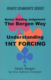Cover of: Understanding 1NT Forcing | Marty A. Bergen