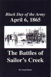 Cover of: Black Day of the Army, April 6, 1865