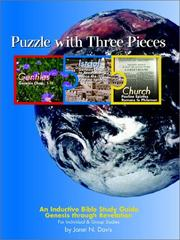 Cover of: Puzzle with Three Pieces