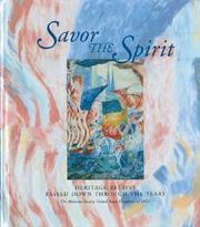 Cover of: Savor the Spirit