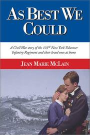 Cover of: As Best We Could | Jean Marie McLain