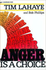 Cover of: Anger is a choice