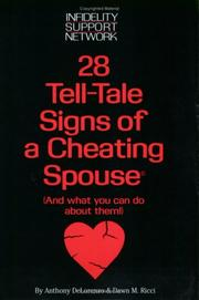 Cover of: 28 Tell-Tale Signs of a Cheating Spouse | Anthony Delorenzo