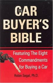 Cover of: The car buyer's bible