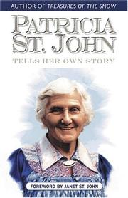 Cover of: Patricia St. John Tells Her Own Story