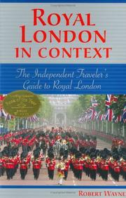 Cover of: Royal London in Context | Robert Wayne