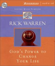Cover of: God's Power to Change Your Life (Living With Purpose)