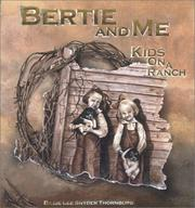 Cover of: Bertie and Me | Billie Lee Snyder Thornburg