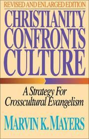 Cover of: Christianity confronts culture
