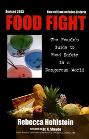 Cover of: Food fight