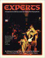 Cover of: Experts: A Comprehensive D20 Sourcebook for Fantasy Role-Playing Games