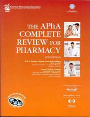 Cover of: The APhA complete review for pharmacy