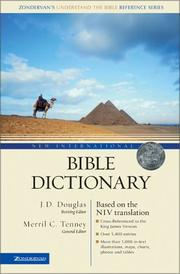 Cover of: The New international dictionary of the Bible |