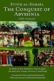 Cover of: The Conquest of Abyssinia | Sihab ad-Din Ahmad bin Abd al-Qader bin