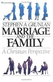 Cover of: Marriage and the family, a Christian perspective