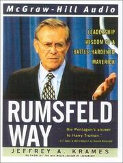 Cover of: The Rumsfeld Way |