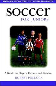 Cover of: Soccer for juniors