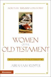 Cover of: Women of the Old Testament