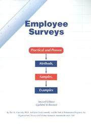 Cover of: Employee Surveys