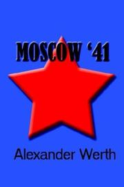 Cover of: Moscow '41