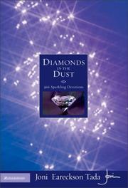 Cover of: Diamonds in the dust: 366 sparkling devotions