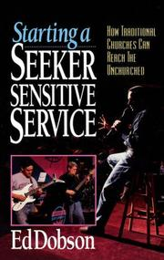 Cover of: Starting a seeker sensitive service | Ed Dobson