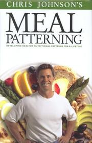 Cover of: Meal Patterning