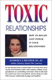 Cover of: Toxic Relationships
