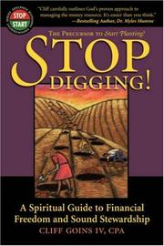 Cover of: Stop Digging!
