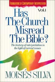Cover of: Has the church misread the Bible?