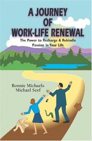 Cover of: A Journey of Work-Life Renewal