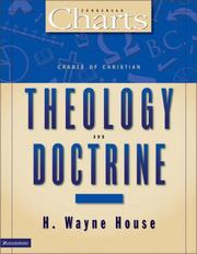 Cover of: Charts of Christian theology and doctrine