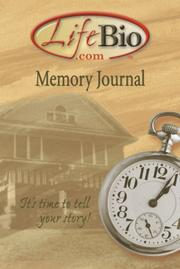 Cover of: Memory Journal
