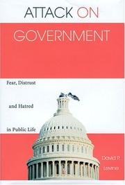 Cover of: Attack on Government