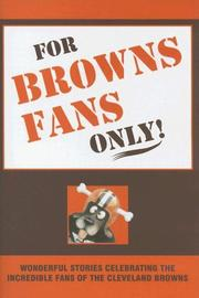 Cover of: For Browns Fans Only!