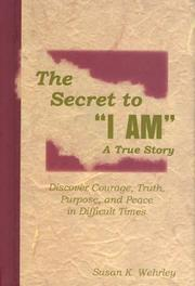 "Cover of: The Secret to ""I AM"""