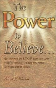 Cover of: Power to Believe