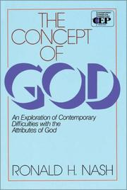 Cover of: concept of God | Ronald H. Nash