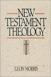 Cover of: New Testament Theology |