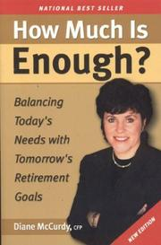 Cover of: How Much Is Enough? | Diane Lynn McCurdy