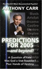 Cover of: Stargazer: Predictions For 2005 , and beyond!  | Anthony Carr