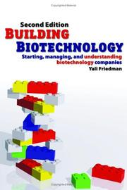 Cover of: Building biotechnology