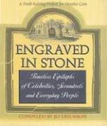 Cover of: Engraved in Stone | Erickson Jo