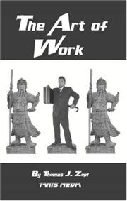Cover of: The Art of Work