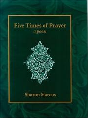 Cover of: Five Times of Prayer
