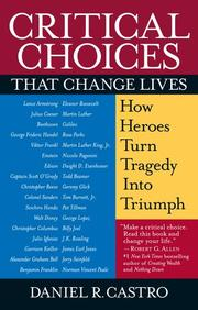 Cover of: Critical Choices That Change Lives