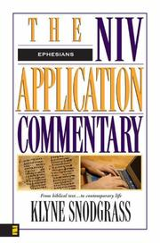 Cover of: Ephesians