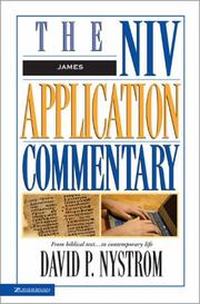 Cover of: The NIV Application Commentary | David P. Nystrom