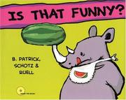 Cover of: Is That Funny? | Leo D. Schotz
