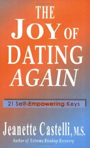 Cover of: The Joy Of Dating Again